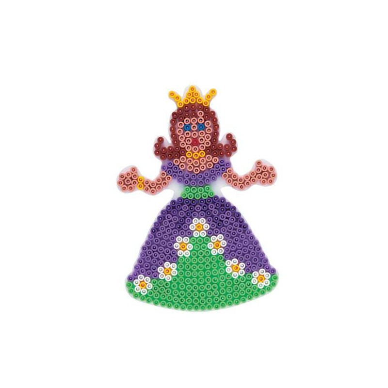 plaque perles repasser hama midi princesse grand mod le. Black Bedroom Furniture Sets. Home Design Ideas