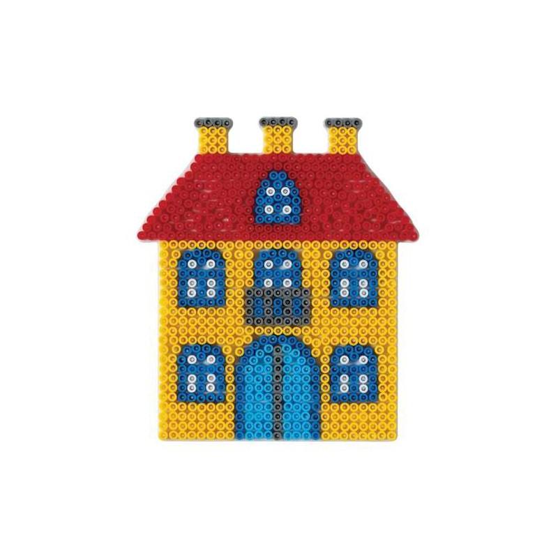 Plaque Perles à Repasser Hama Midi Maison Grand Modèle
