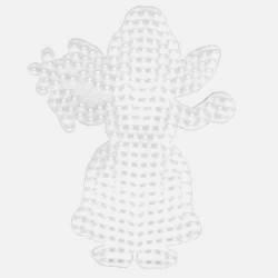 Plaque perles à repasser Hama Midi - Fée Grand modèle