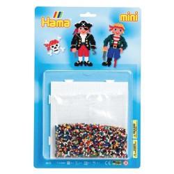 Kit perles à repasser Hama Mini - Pirates