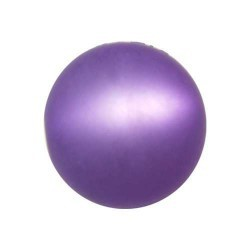 Perle Polaris lilas, mat, ronde 10 mm - à l'unité