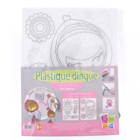 Kit Plastique dingue Bijoux sautoir - Colliers Liberty