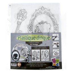 Kit Plastique dingue Bijoux sautoir - Colliers Vintage