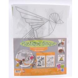 Kit Plastique dingue Bijoux sautoir - Colliers Oiseaux