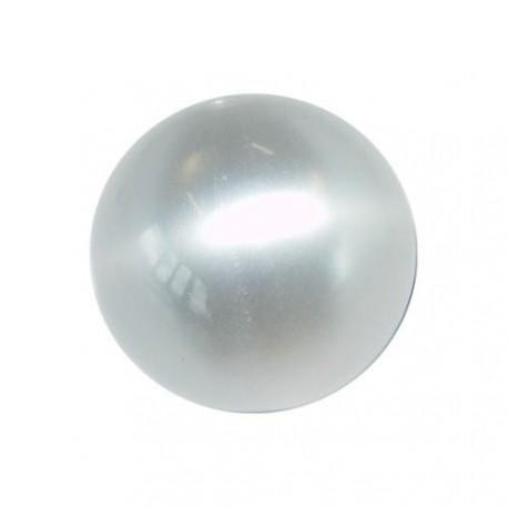 Perle Polaris cristal, brillant, ronde 14 mm - à l'unité
