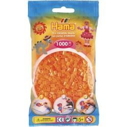 Sachet 1000 Perles Hama Midi - Orange néon