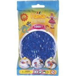 Sachet 1000 Perles Hama Midi - Bleu néon