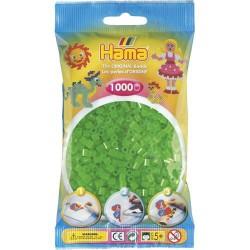 Sachet 1000 Perles Hama Midi - Vert néon