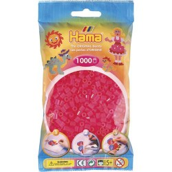Sachet 1000 Perles Hama Midi - Rose fushia