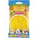 Sachet 1000 Perles Hama Midi - Jaune transparent
