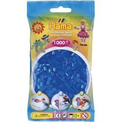 Sachet 1000 Perles Hama Midi - Bleu transparent