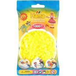 Sachet 1000 Perles Hama Midi - Jaune néon