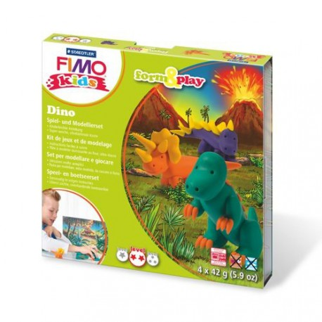Kit Fimo Kids Dinosaures