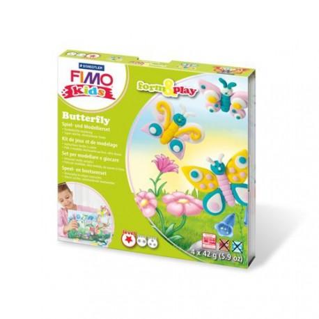 Kit Fimo Kids Papillons