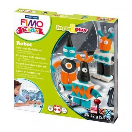 Kit Fimo Kids Robots