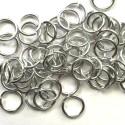 Anneau aluminium silver, 10 mm x10