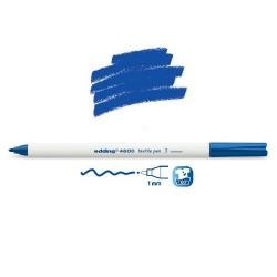 Marqueur textile Bleu pointe 1 mm