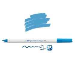 Marqueur textile Bleu clair pointe 1 mm