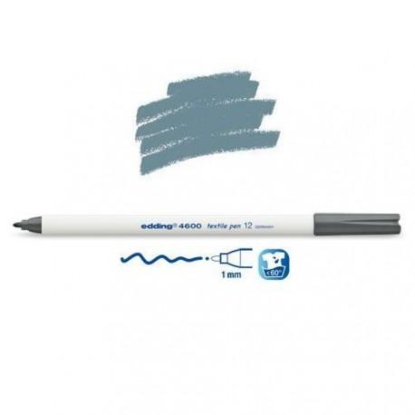 Marqueur textile Gris pointe 1 mm