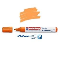 Marqueur textile Orange pointe 2-3 mm