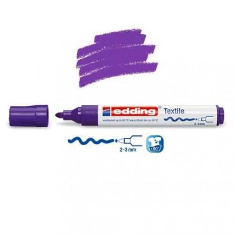 Marqueur textile Violet pointe 2-3 mm
