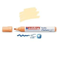Marqueur textile Orange clair pointe 2-3 mm
