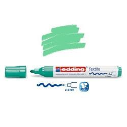Marqueur textile Vert pale pointe 2-3 mm
