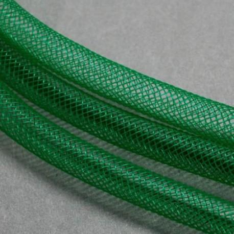 Résille tubulaire Verte, 8 mm ø - au mètre