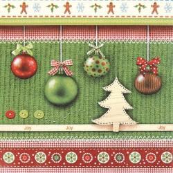 Serviettes en papier Esprit Noël