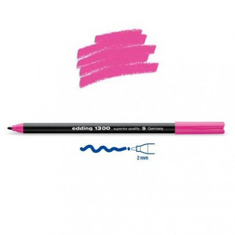 Feutre coloriage Rose pointe 2 mm