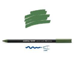 Feutre coloriage Vert olive pointe 2 mm