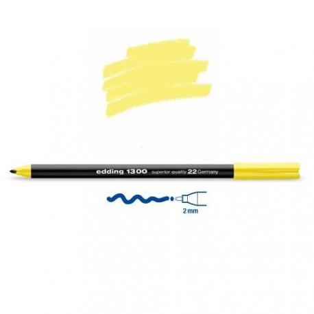 Feutre coloriage Jaune citron pointe 2 mm