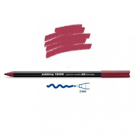 Feutre coloriage Rouge d'Angleterre pointe 2 mm