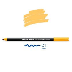 Feutre coloriage Jaune brillant pointe 2 mm