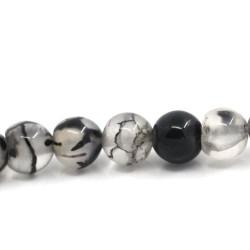 Perle os de Dragon noire, 6 mm