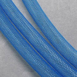 Résille tubulaire Bleue claire, 8 mm ø - au mètre