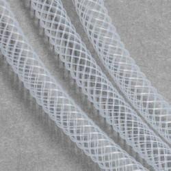 Résille tubulaire fine Blanche, 4 mm ø - au mètre
