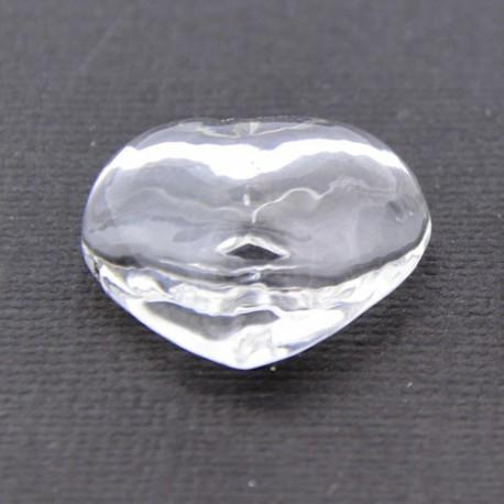 Globe en verre - coeur 2 cm