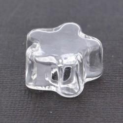 Globe en verre - fleur 2 cm