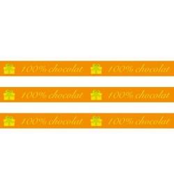 Masking Tape 100% Chocolat - 15 mm x 10 m
