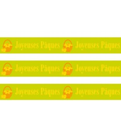 Masking Tape Joyeuses Pâques - 15 mm x 10 m