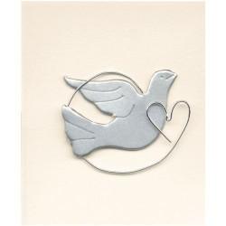 Cartes àmotifs Pigeon avec Coeur