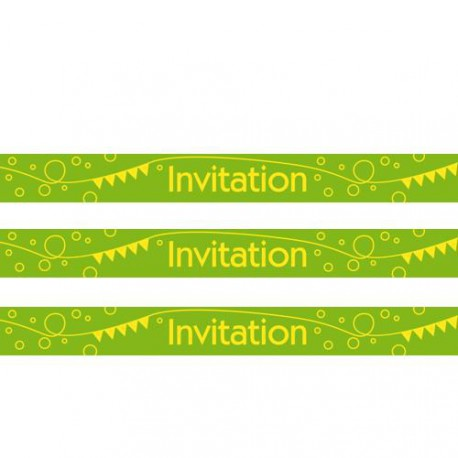 Masking Tape Invitation - 15 mm x 10 m