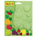 Moule Fruits push mold