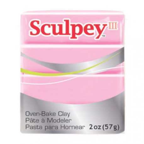 Sculpey III Vieux Rose - 57 gr