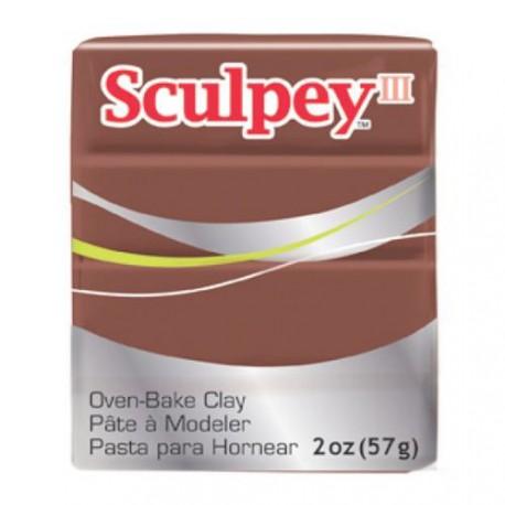 Sculpey III Marron Chocolat - 57 gr