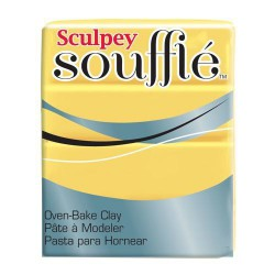 Sculpey Soufflé Jaune Canari - 48 gr
