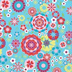 Serviettes en papier Flowerful