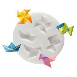 Mini moule silicone Origami