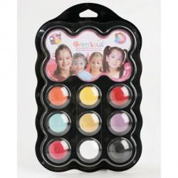 Maquillage 9 Couleurs Princesse - Sans paraben
